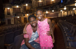 Check out a welcome message from our two newest cast members Ephraim Sykes and Shahadi Wright Joseph: