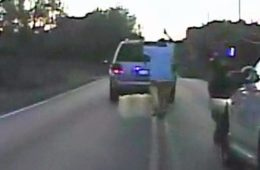 Terence Crutcher moments before he was shot and killed by Officer Betty Shelby of the Tulsa Police Dept.