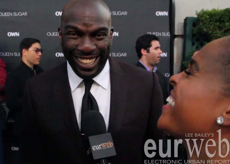 Omar Dorsey at OWNs at 'Queen Sugar' premiere
