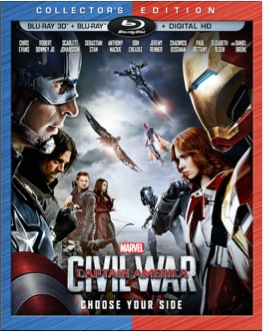 CAPTAIN AMERICA CIVIL WAR / DVD