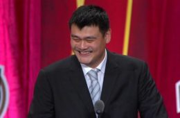 yao ming (cracks on allen iverson)