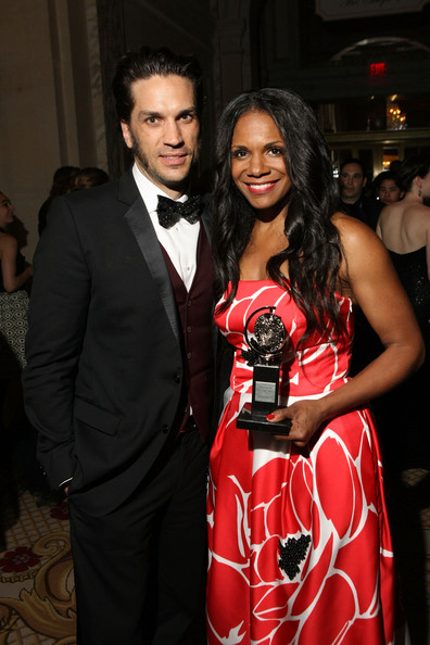 Audra McDonald and Will Swenson attend the 68th Annual Tony Awards Gala at The Plaza Hotel on June 8, 2014 in New York City.