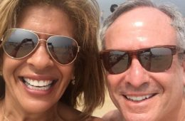 Hoda Kotb and Joel Schiffman