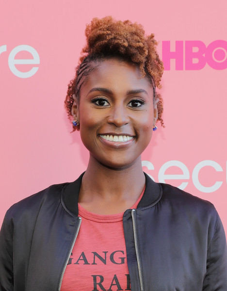 'Insecure' creator and actress Issa Rae attends HBO's 'Insecure' Block Party on September 25, 2016 in Brooklyn City.