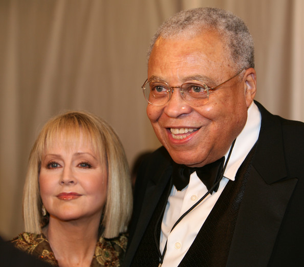 Cecilia Hart with husband James Earl Jones attend the reopening of the Ford Theatre.