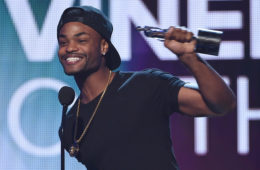 Internet personality Andrew B. Bachelor, aka King Bach accepts the award for Viner of the Year at VH1's 5th Annual Streamy Awards at the Hollywood Palladium on Thursday, September 17, 2015 in Los Angeles, California. (Sept. 16, 2015 - Source: Kevin Winter/Getty Images North America)