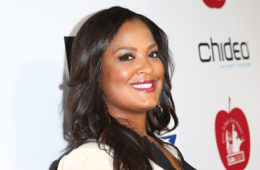 Laila Ali arrives for The CP3 Foundation's Celebrity Server Dinner presented by Apollo Jets at Mastro's Steakhouse on October 26, 2014 in Beverly Hills, California. (Oct. 25, 2014 - Source: Imeh Akpanudosen/Getty Images North America)