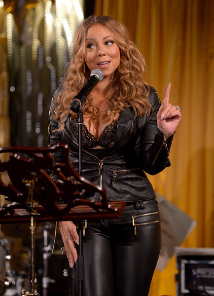 Mariah Carey onstage during the special event for UN Secretary-General Ban Ki-moon hosted by Brett Ratner and David Raymond at a Private Residence on August 10, 2016 in Los Angeles, California.