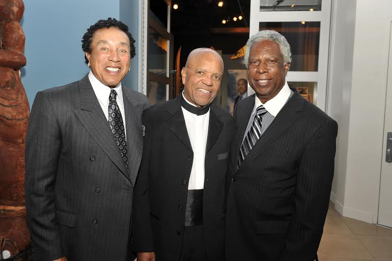 Smokey Robinson, Berry Gordy and William 'Mickey' Stevenson were inseparable back in the day.