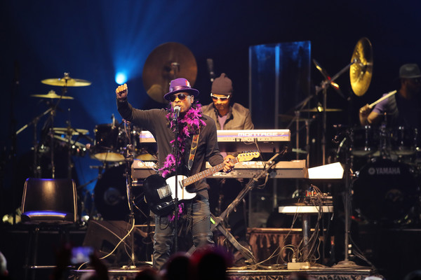 Mint Condition performs at the Prince Official Tribute concert at Xcel Energy Center in St. Paul, Minnesota on October 13, 2016.