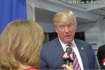 Colleen Marshall is dismissed by Donald Trump during NBC4 interview in Las Vegas (Oct. 20, 2016)