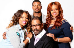 Grammy nominated Kierra Sheard, J. Drew Sheard II, Grammy Award winning Karen Clark Sheard and Bishop J. Drew Sheard.