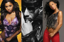 Mashonda, Swiss Beatz and Alicia Keys