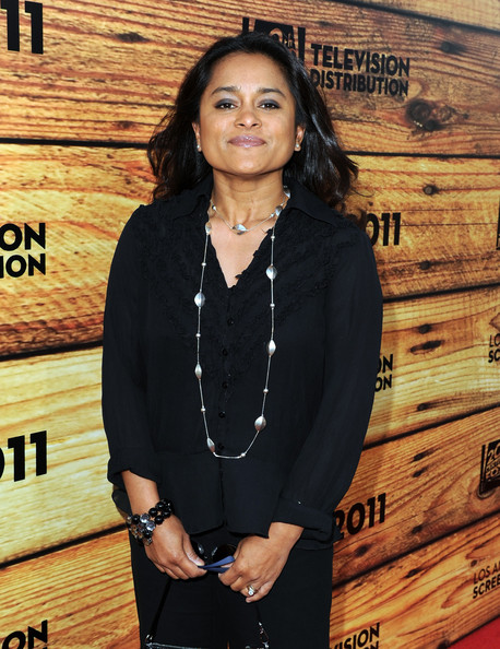 Producer Veena Sud attends a star-studded party hosted by Twentieth Century Fox Television Distribution at the Fox Lot on May 26, 2011 in Century City, California.