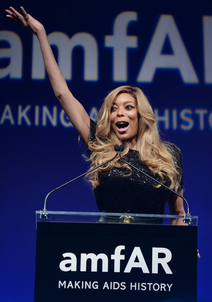 Wendy Williams speaks onstage during the 7th Annual amfAR Inspiration Gala at Skylight at Moynihan Station on June 9, 2016 in New York City.