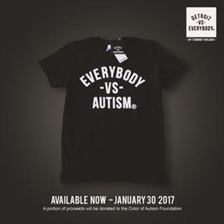 Detroit VS Everybody, Color of Autism, Autism Foundation