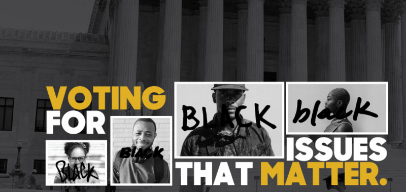 black voting, racial justice group, political action committee,