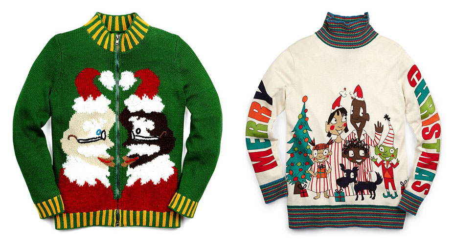 8e380b9b Lord & Taylor Selling 'Funny' Christmas Sweaters Designed by Whoopi ...