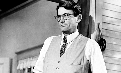 Gregory Peck as Atticus in 'To Kill a Mockingbird'