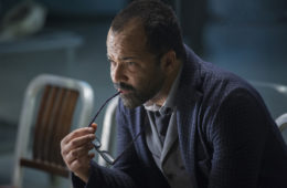 "Jeffrey Wright in a scene from HBO's ""Westworld"""