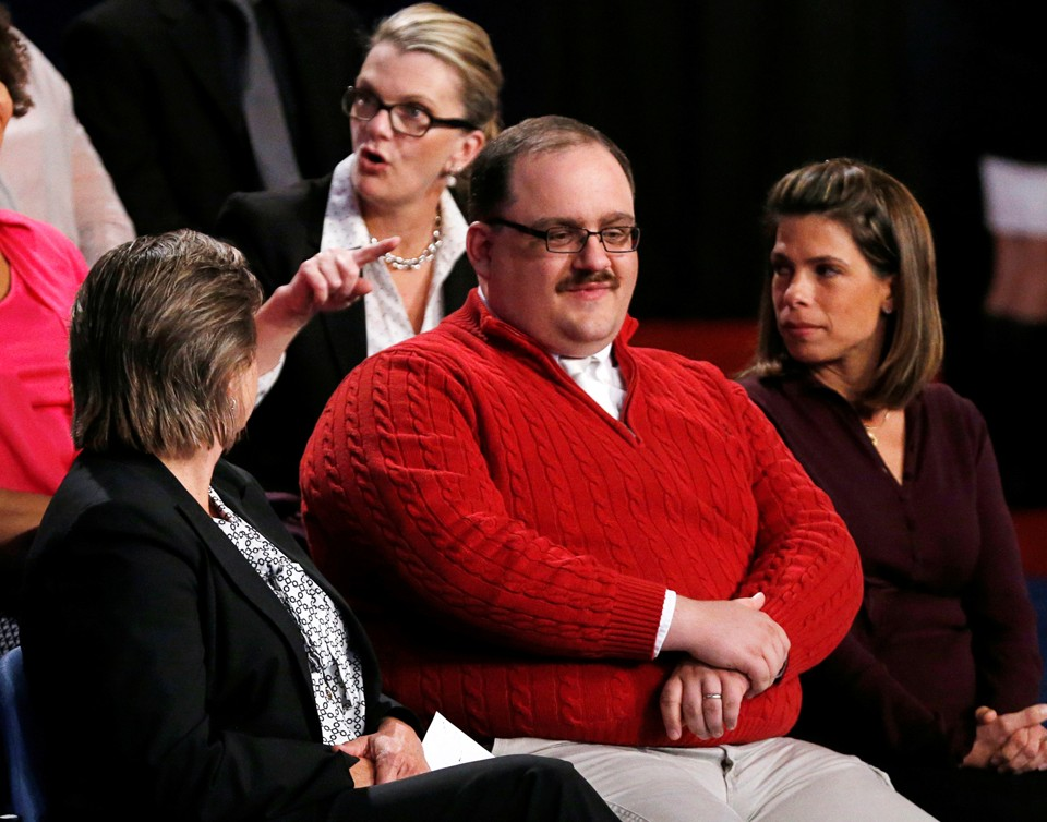 Red Sweater Dude From Debate Says Trayvon Martin Shooting 'Was ...