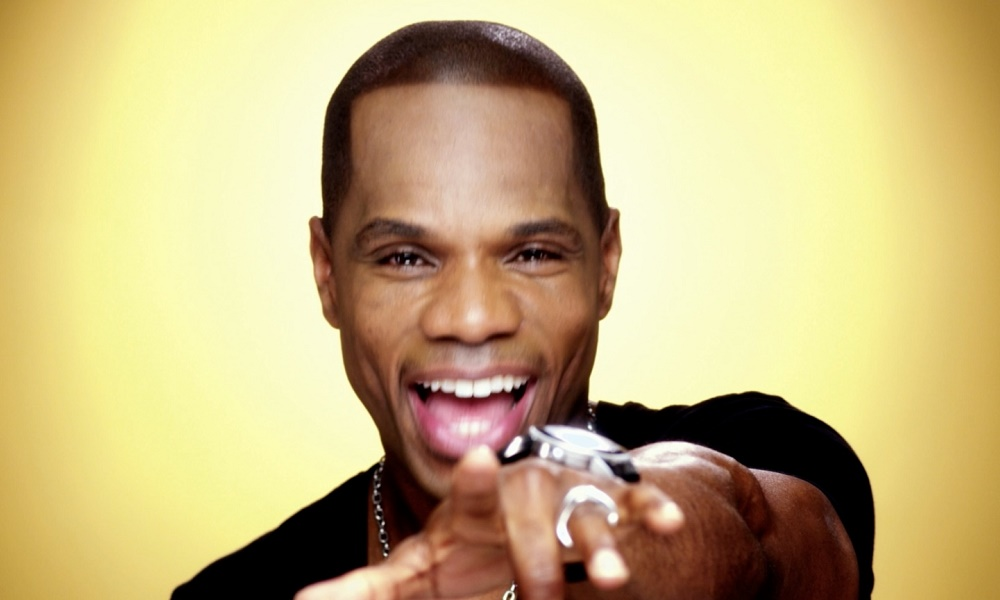 Gospel singer Kirk Franklin is 47
