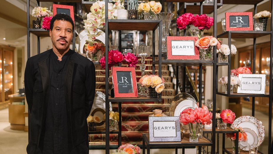 Lionel Richie with his collection of home accessories (Noteworthy Collective)
