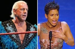 Ric Flair and Halle Berry