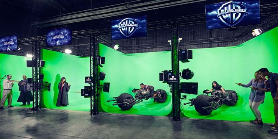 Via green screen technology, you can drive a Batpod or ride on Harry Potter's Broom during the impressive Warner Bros Studio Tour in Hollywood. Yes, I got on that broom!
