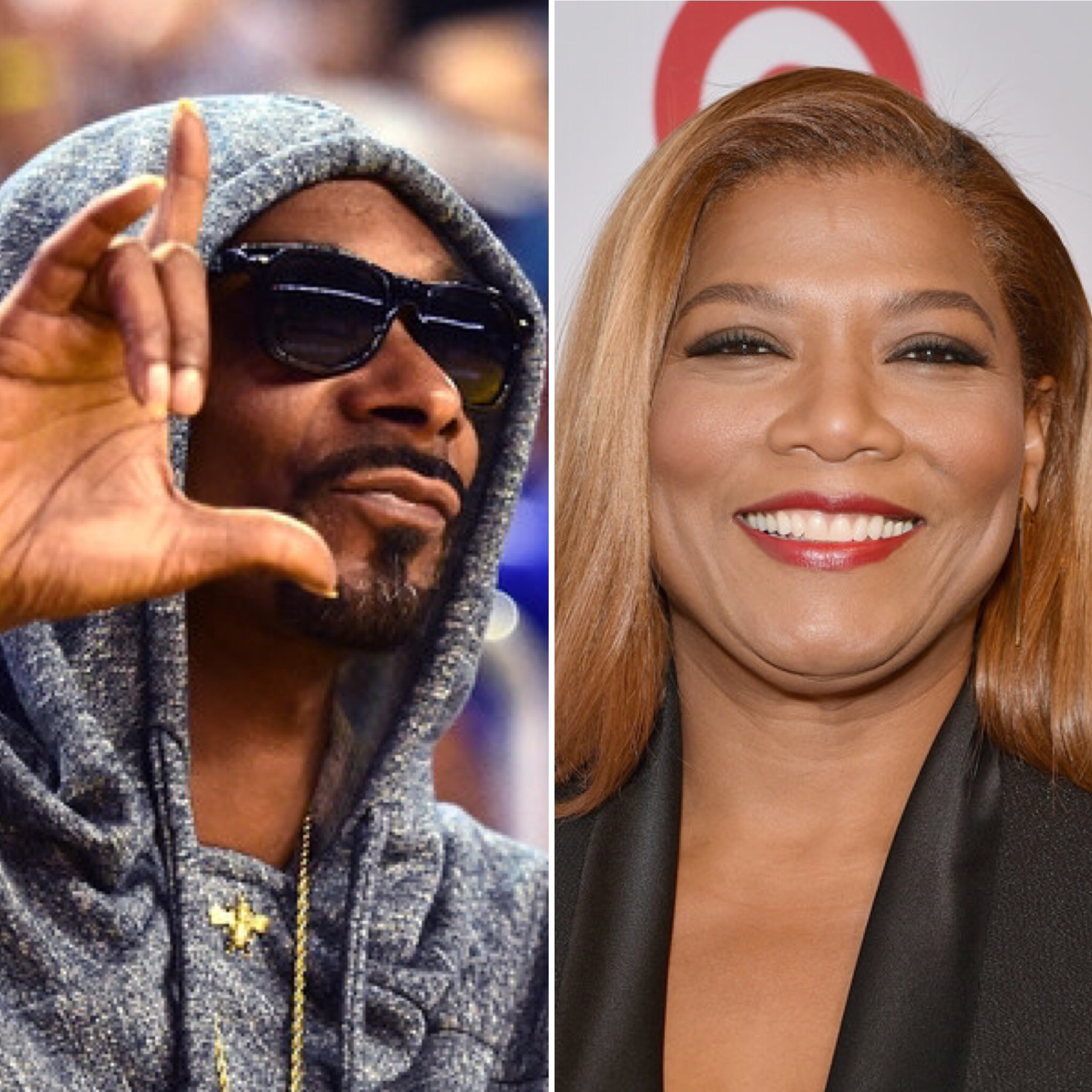 Snoop Dogg and Queen Latifah (Getty)