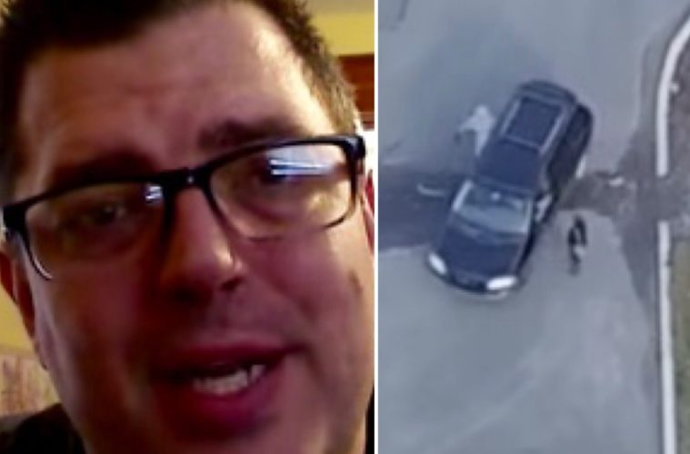 John Consiglio narrates drone video of his wife cheating