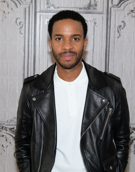 """Andre Holland attends The Build Series Presents The Cast Of """"Moonlight"""" at AOL HQ on October 21, 2016 in New York City."""