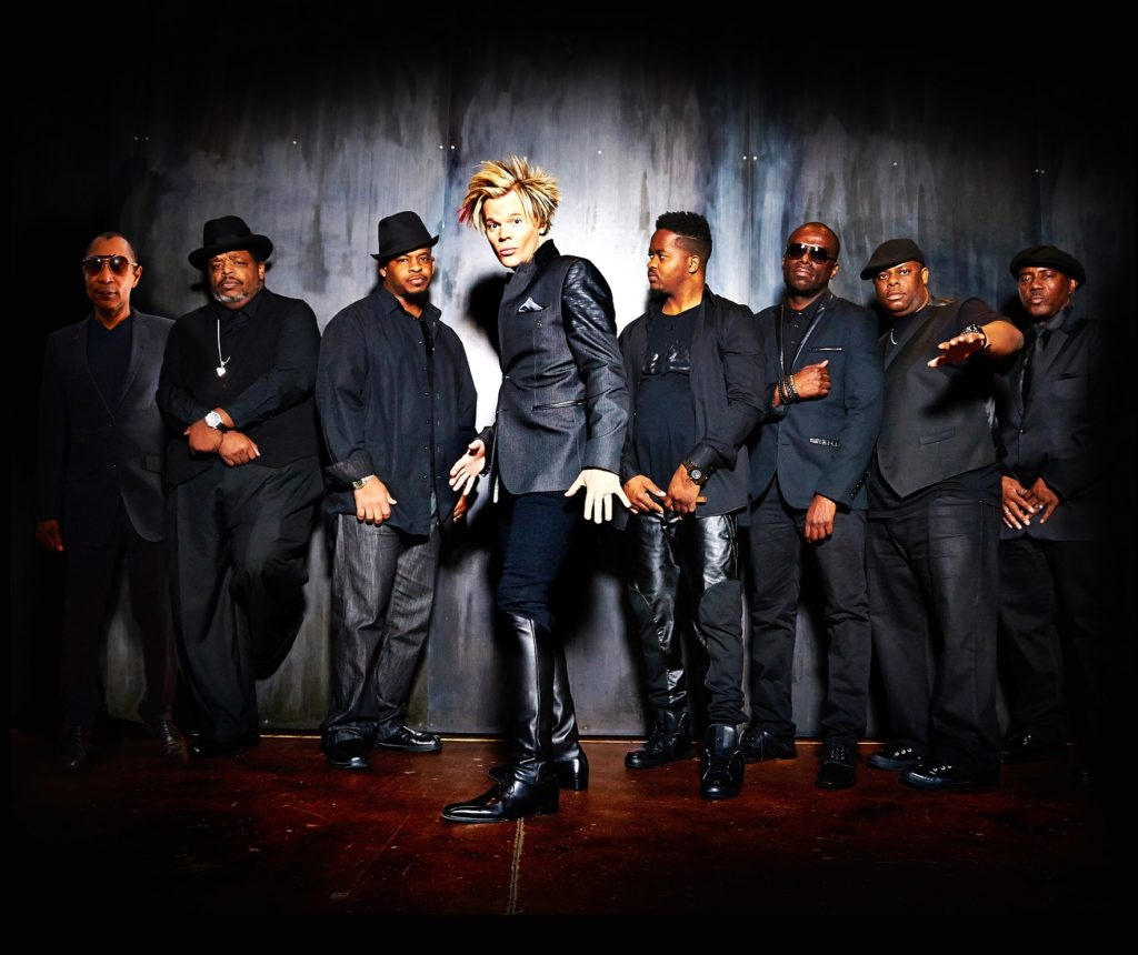 Brian Culbertson & his smoking hot band from the Funk! Tour (photo by Daniel Ray) www.BrianCulbertson.com