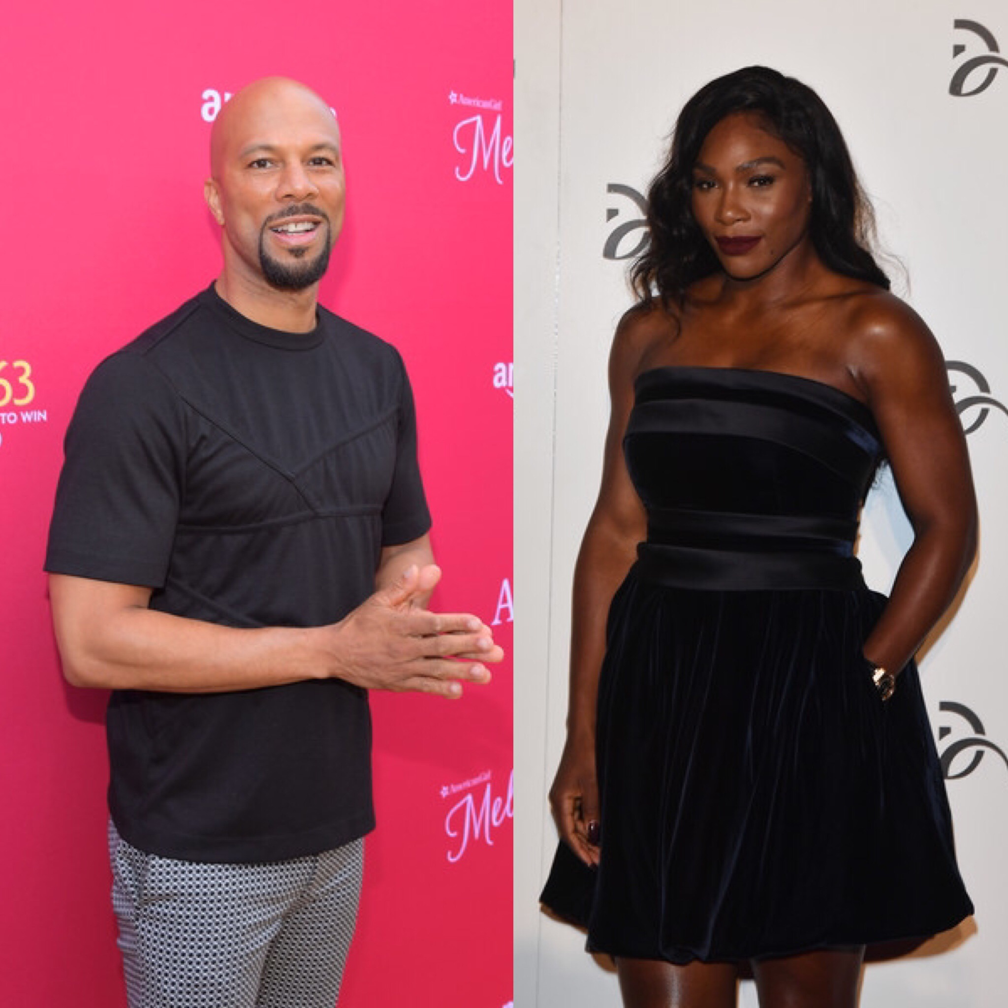 Common and Serena Williams (Getty Images)