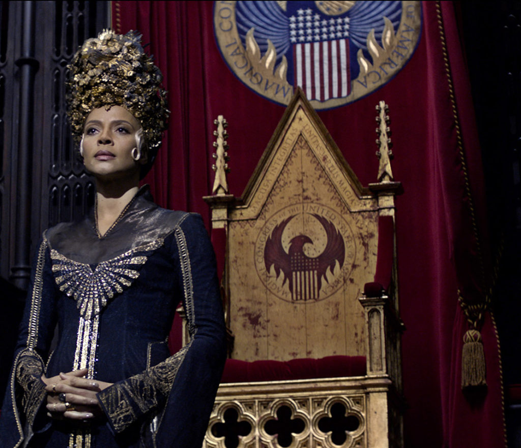 Carmen Ejogo as Seraphina Picquery in 'Fantastic Beasts.'