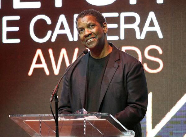 Actor Denzel Washington speaks onstage during the Hamilton Behind The Camera Awards presented by Los Angeles Confidential Magazine at Exchange LA on November 6, 2016 in Los Angeles, California.
