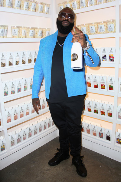 Rick Ross attends 'The Realest Real' A Film by Carrie Brownstein presented by KENZO at The Metrograph on September 12, 2016 in New York City.