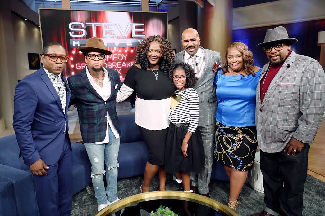 Image result for kings of comedy reunion on steve harvey show