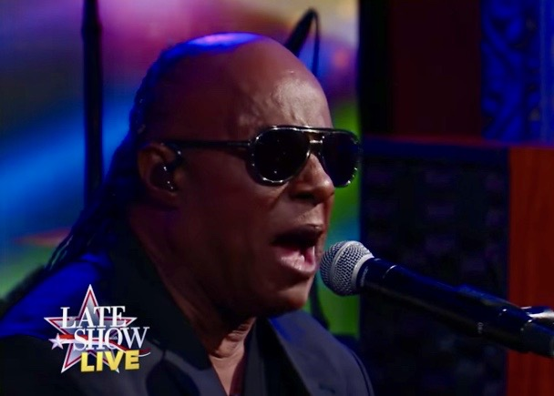 """Stevie Wonder on """"The Late Show with Stephen Colbert"""""""