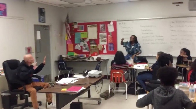 Black student in Florida argues with white substitute teacher over racism
