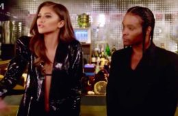 "Zendaya (L) on Cycle 23 of ""America's Next Top Model"" (VH1)"