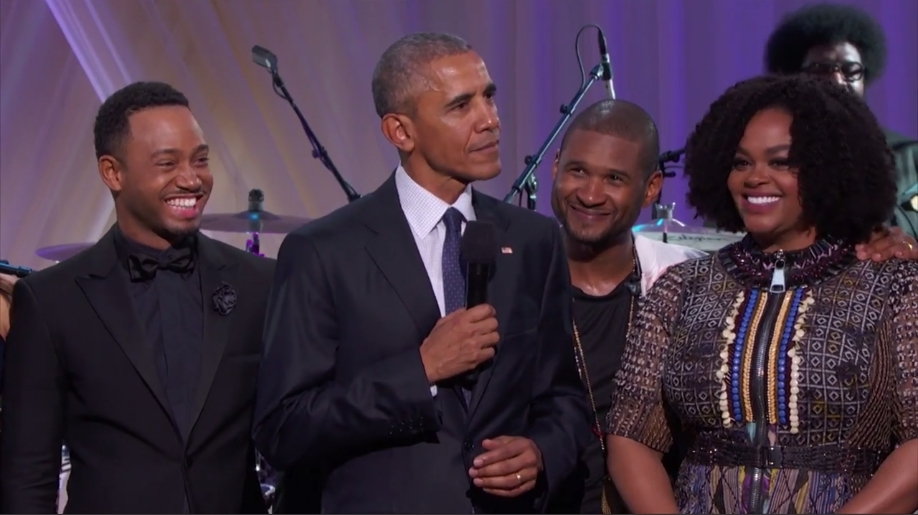 BET says goodbye to Obama with attractive 'Love and Happiness' concert
