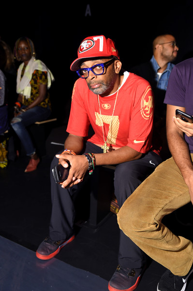 Director Spike Lee attends the Xuly Bet fashion show during New York Fashion Week: The Shows at The Dock, Skylight at Moynihan Station on September 14, 2016 in New York City.