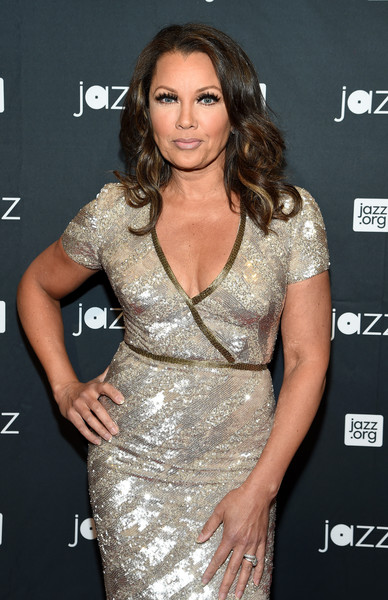 """Gala Concert Host Vanessa Williams attends the Jazz at Lincoln Center 2016 Gala """"Jazz and Broadway"""" honoring Diana and Joe Dimenna and Ahmad Jamal at Frederick P. Rose Hall, Jazz at Lincoln Center on May 9, 2016 in New York City."""