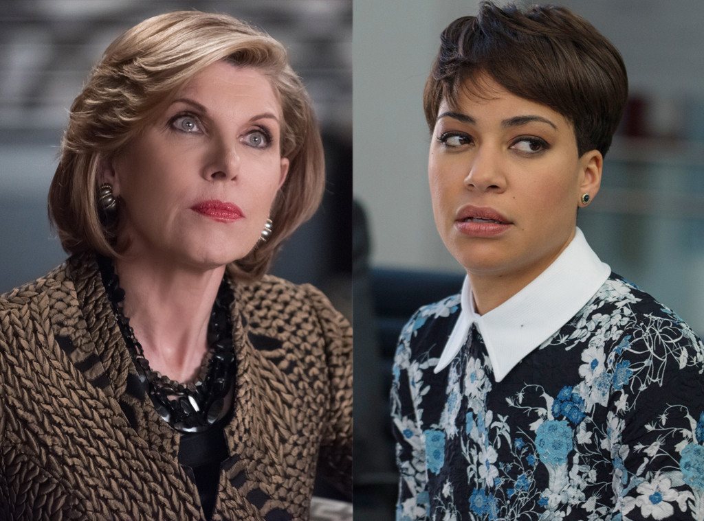 "Christine Baranski (L) and Cash Jumbo in ""The Good Fight"""