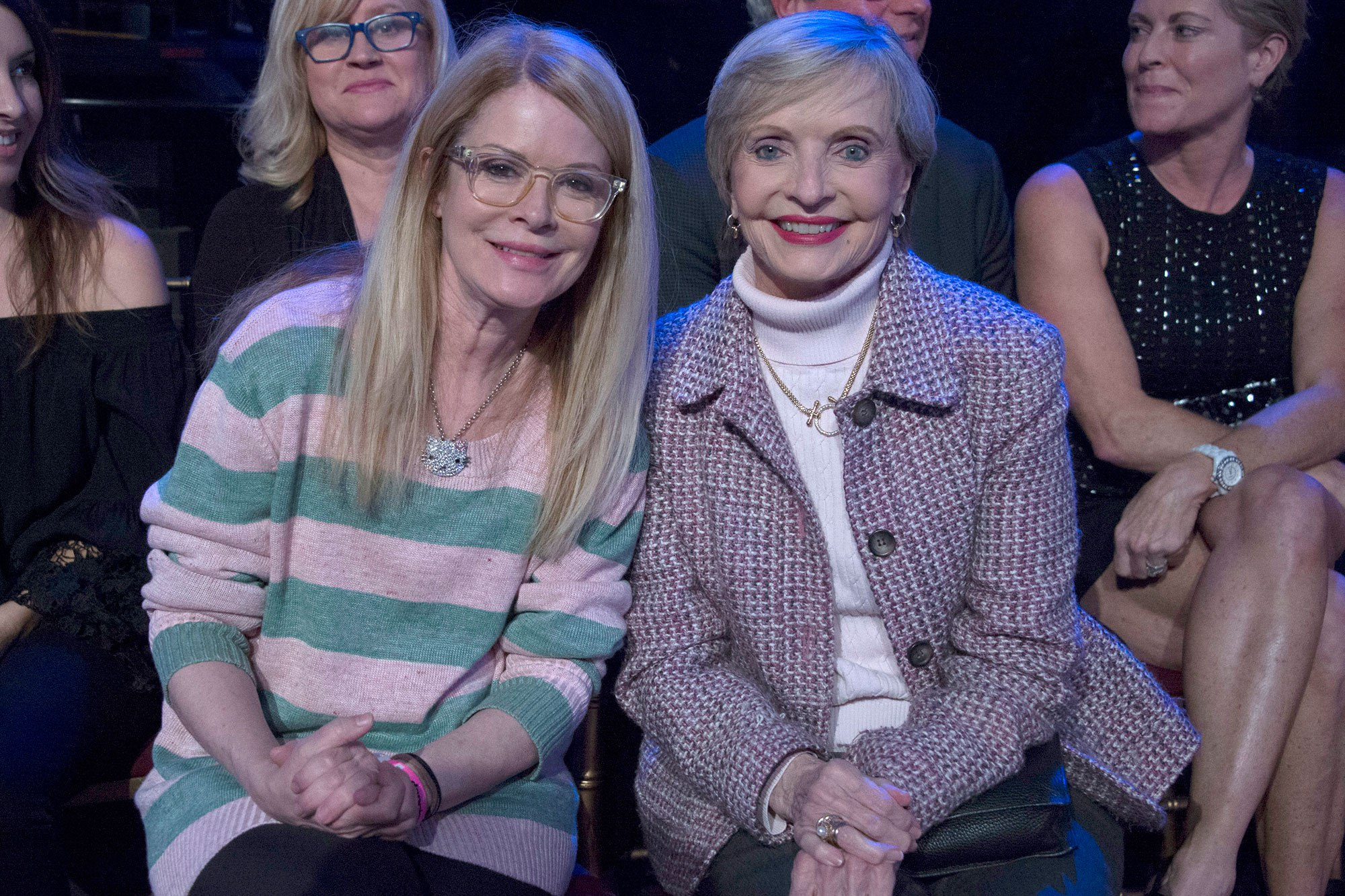 Florence Henderson (R) ERIC MCCANDLESS/ABC VIA GETTY IMAGES