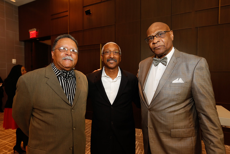 "Topper Carew (creator of the TV Show ""Martin"", Danny Allen of SAP, Albert White, Managing Partner at Polaris Private Equity Fund"