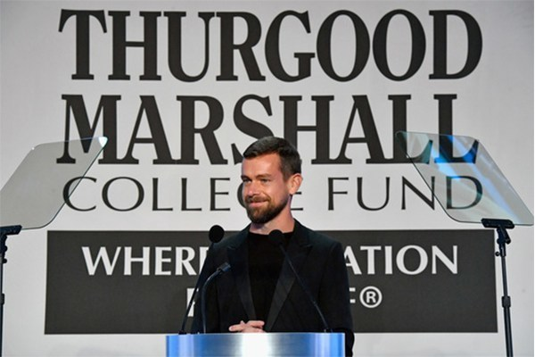 jack dorsey (thurgood marshall recipient)