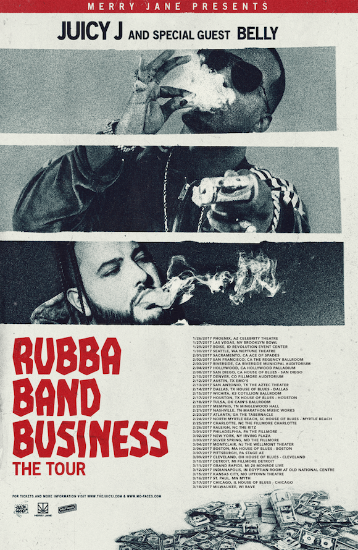 juicy j., rubba band business: the tour