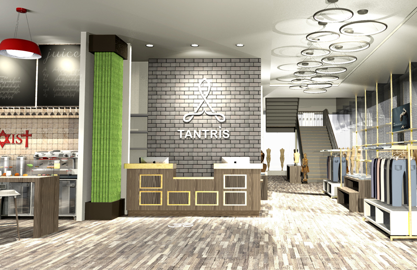 The Tantris Brand is a yoga inspired, premium lifestyle brand that offers a wide variety of apparel, accessories and services for wellness enthusiasts.